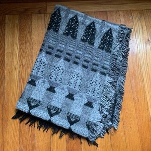 Anthropologie Oversized Printed Scarf